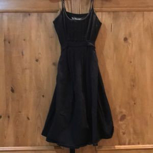 Black Victoria's Secret bra top dress